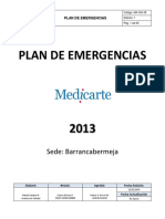 MA-GN-38 Plan Emergencias Ed. 1