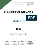 MA-GN-38 Plan Emergencias Ed. 1