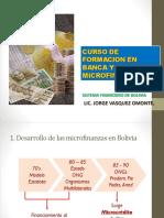 Curso de Formacion en Banca y Microfinanzas