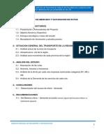 Estudio de Mercado Del Servicio de Transporte Publico de Pasajeros