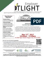 Employer Spotlights May 2017