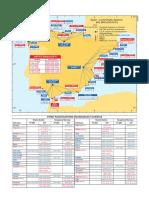 Mapa Estaciones Costeras Espanolas