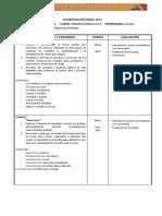 Planficacion Anual Cs. Naturales 1basico