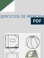 Ejercicios de Memoria II