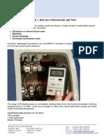 Morgan - Bruss Pressure Meter