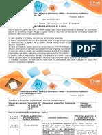 Guía de Actividades y Rúbrica de Evaluación - Paso 3 - Estimar y Presupuestar Los Costos Del Proyecto