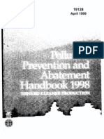 Pollution Prevention and Abatement Handbook - Towards Cleaner Production
