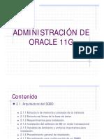 Adminis Traci on Oracle Unidad 2