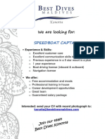 Job Advertisement KON Speedboat Captain (1)