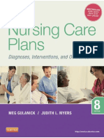 Nursing Care Plans_ Nursing Dia - Gulanick, Meg