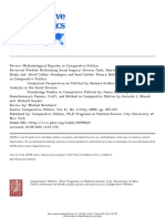 BERNHARD_REVIEW_Methodological Disputes in Comparative Politics