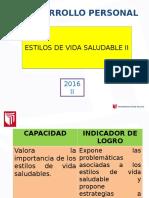 Diapositivas de Los Estilos de Vida Saludable 2016