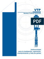 Pump VTP IOM Manual