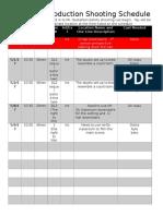 hawkeye production shooting schedule  1