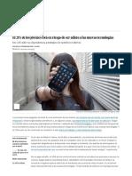Tecnoadicciones_ El 21% de Los Jóvenes Está en Riesgo de Ser Adicto a Las Nuevas Tecnologías _ Actualidad _ EL PAÍS