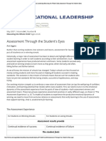 stigginsarticle assessment for learning