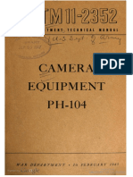 TM11-2352 Camera Equipment PH-104