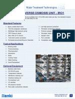 15. Industrial Reverse Osmosis IRO1