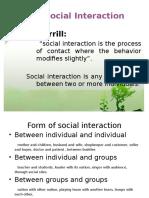 5.Social Interaction
