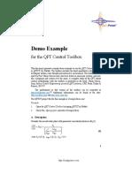 QFTCT DemoExample Description