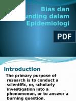 Kul 6 -Bias Dan Confounding Dalam Epidemiologi