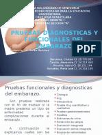 Pruebas Diagnositcas y Funcionales Del Embarazo