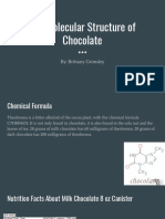 copy of the molecular structure of chocolate