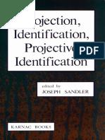 Sandler Joseph -Projection, Identification, Projective Identification