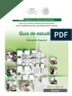 manual de educacion especial sep