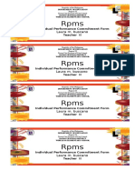 Coverpage Front Rpms ipcrf