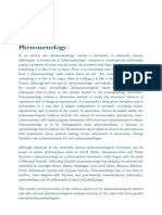 Phenomenology _ Internet Encyclopedia of Philosophy