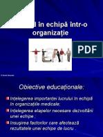 7. Echipa medicala
