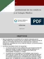 El ejercicio profesional de los médicos