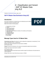 Sap Vc Master Data Distribution Using Ale