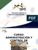 Administración y Control de Inventarios y Almacenes Presentación