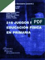 215 Juegos Para Educacion Fisica en Primaria