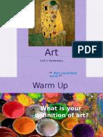 seminar - art unit
