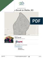 Prairie Brook Neighborhood Real Estate Report