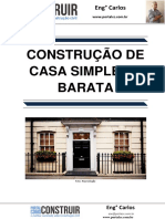 Construção de Casa Simples e Barata
