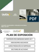 Unsep - Proyectos Recomendados en marzo 2017