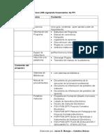 Estructura LMS