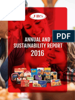 JBS - Annual and Sustainability Report 2016