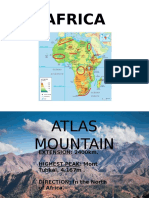 Geographic Features - Africa