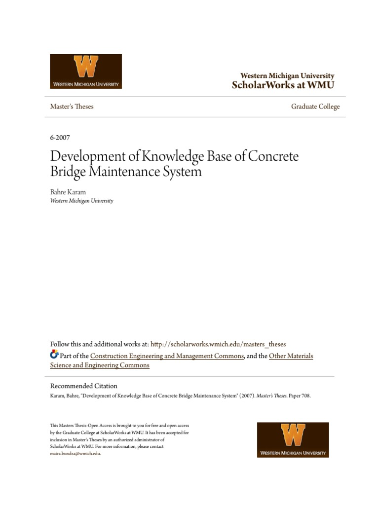 development of knowledge base of concrete bridge maintenance syst  development of knowledge base of concrete bridge maintenance syst pdf corrosion concrete