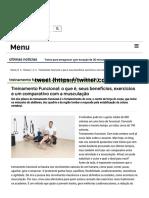 Treinamento Funcional_ o Que é, Seus Benefícios, Exercícios e Um Comparativo Com a Musculação - Portal Educação Física