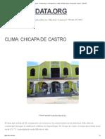 Clima Chicapa de Castro_ Temperatura, Climograma y Tabla Climática Para Chicapa de Castro - Climate-Data