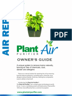 Plant Air Purifier Owners Guide