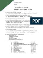 Cuestionario de Derecho Notarial Completo