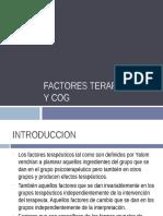 Factores Terapeuticos y Cog