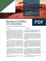 residuos sólidos en colombia